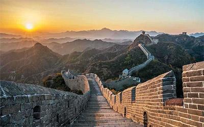 تصویری از دیوار چین
