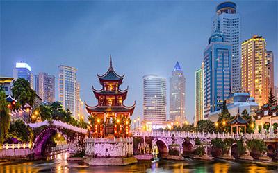 نمای یکی از زیباترین بخش های کشور چین