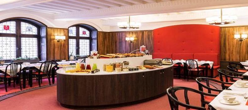 غذاخوری هتل Carlton Lyon Mgallery