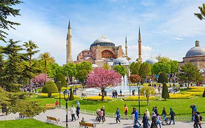 تصویری زیبا از یکی از جاذبه های استانبول