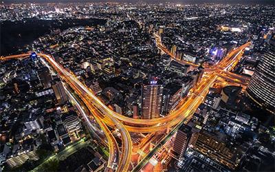 نمای شهر توکیو پایتخت ژاپن