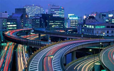 تصویر شهر توکیو از بالا