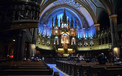 تصویری از کلیسای مونترال