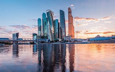 نمایی از شهر مسکو