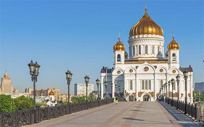 تصویر یکی از جاذبه های شهر مسکو در روسیه