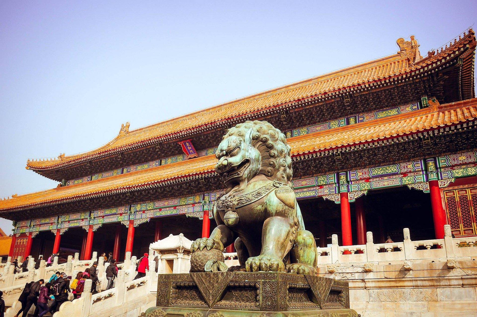 نمایی از اثار باستانی چین