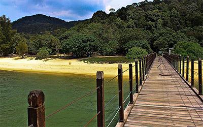 تصویر جزیره زیبای پنانگ در مالزی
