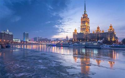 نمایی از کشور روسیه