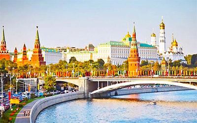 تصویری زیبا از روسیه در هنگام روز