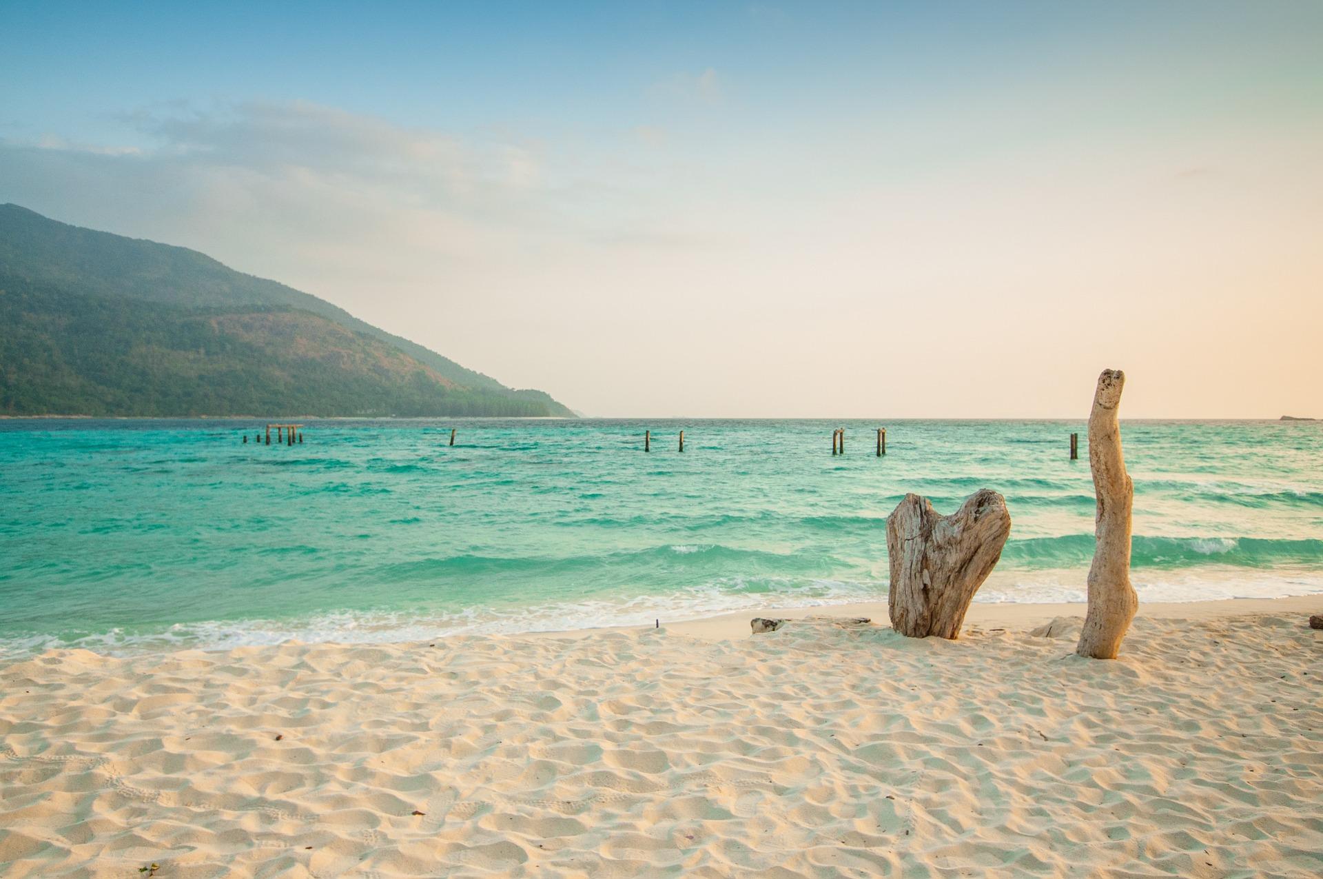 نمایی ساحلی از تایلند