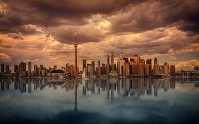 تصویری از شهر تورنتو