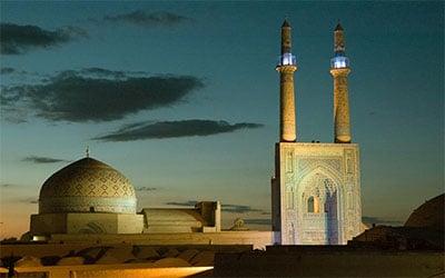 تصویر نمای مسجد جامع یزد