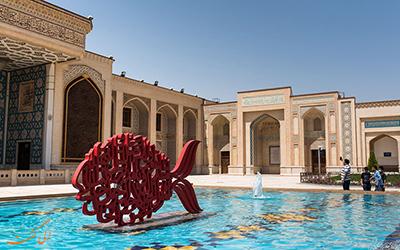 نمایی از آثار تاریخی شیراز