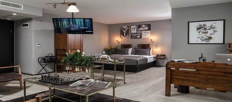 لابی هتل Cinnah Ankara