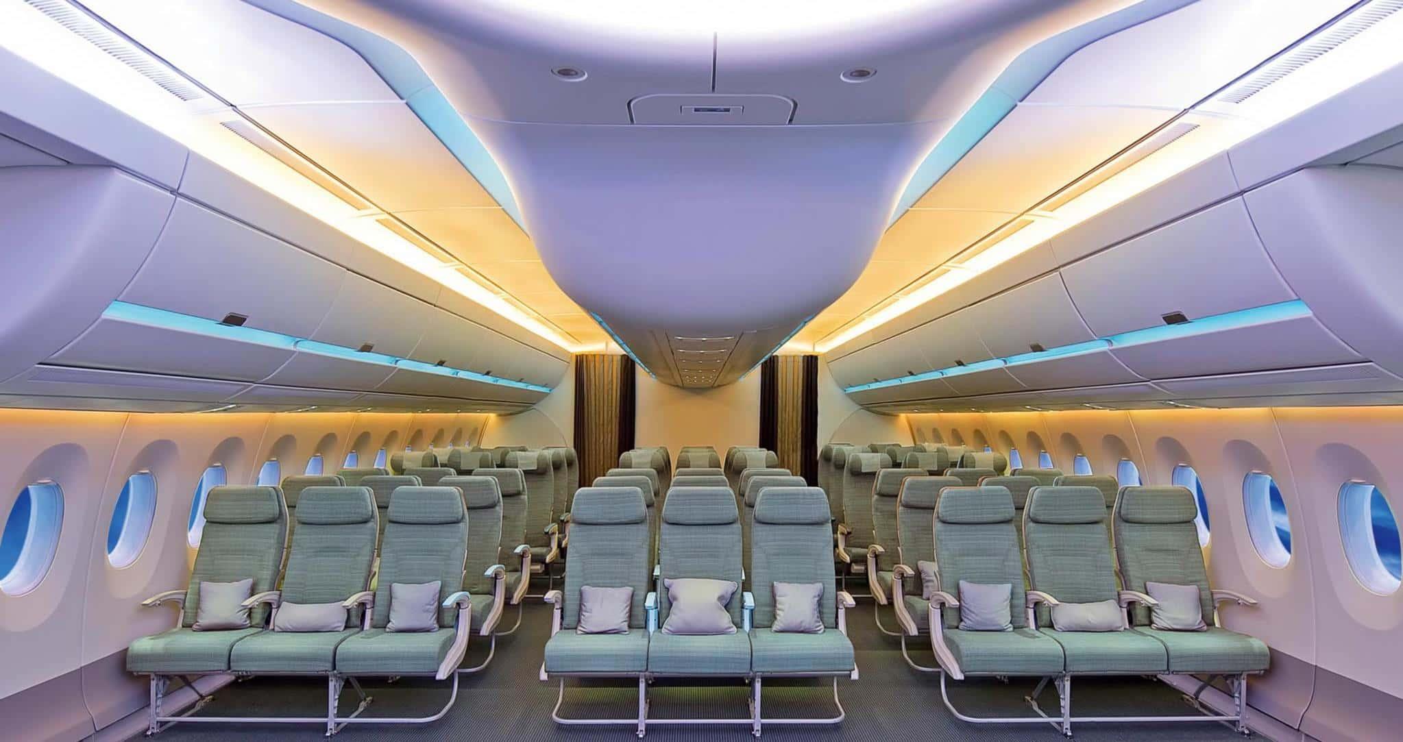 کابین هواپیما از گذشته تا به امروز