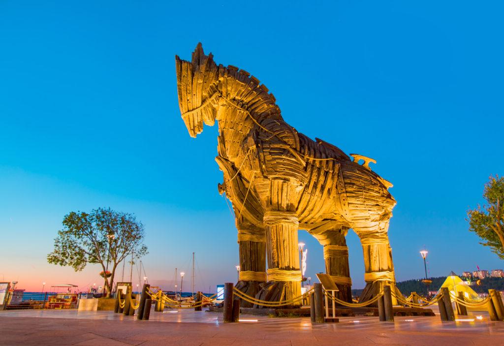 شهر تروآ ترکیه