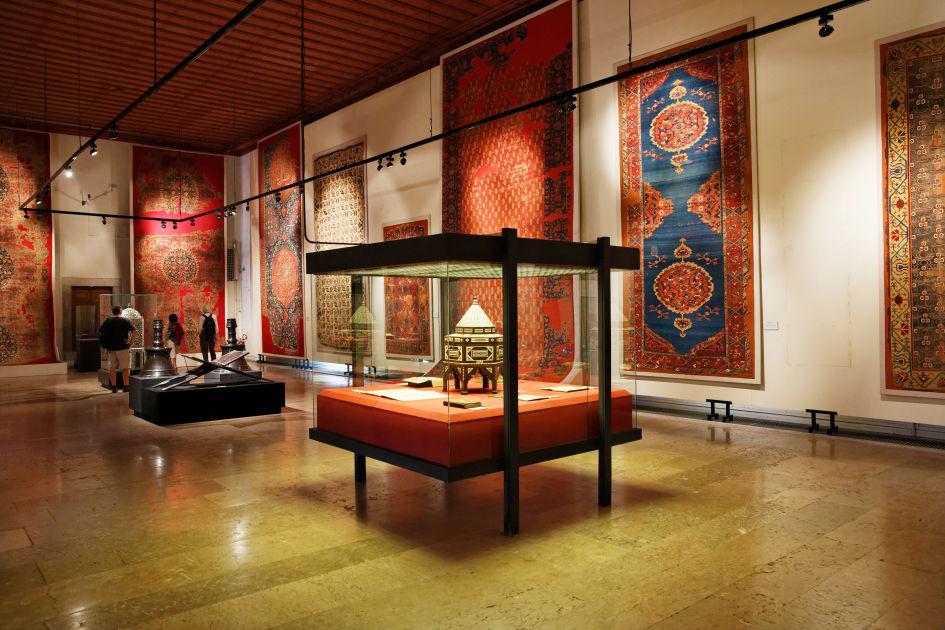 بخش هنر اسلامی موزه باستانشناسی