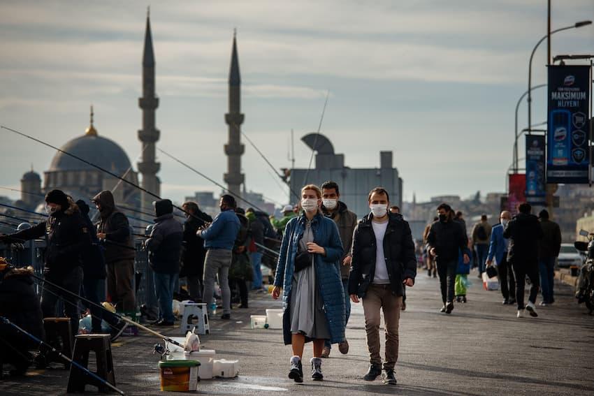 اعمال محدودیت های کرونایی در استانبول
