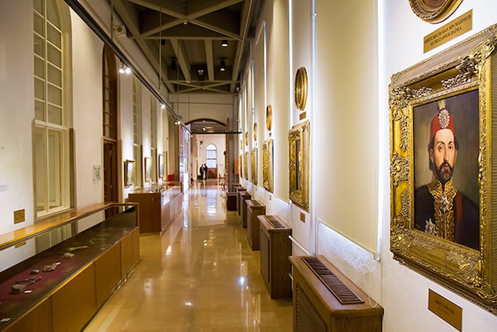گالری موزه باستانشناسی استانبول