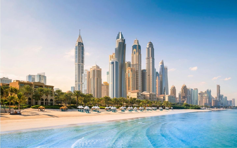 ساحل  شهر دبی