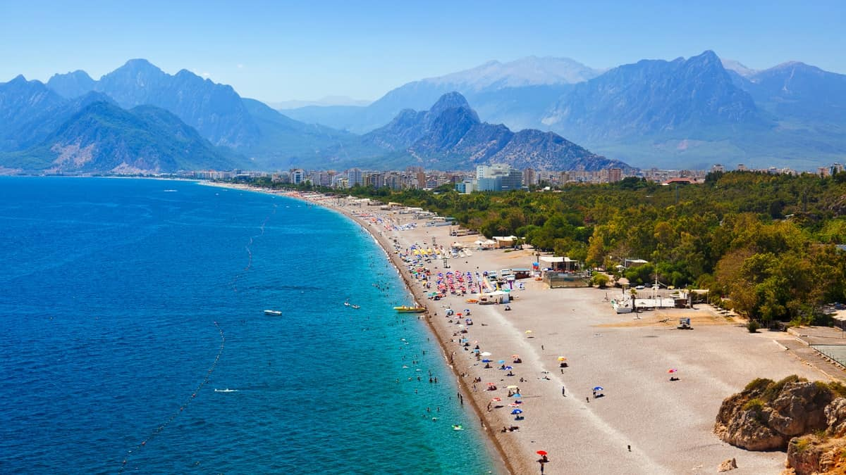 آنتالیا از  زیباترین بنادر ترکیه