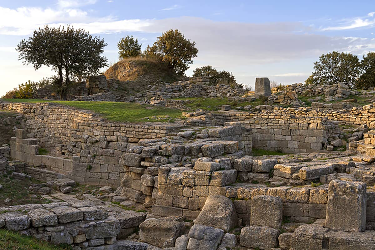باستانی شهر تروآ