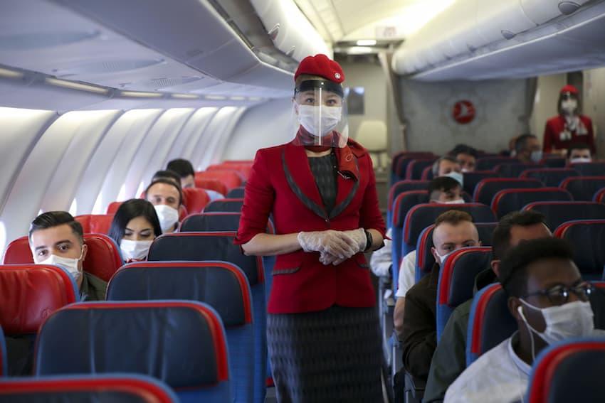 رعایت پروتکل های بهداشتی در هواپیما