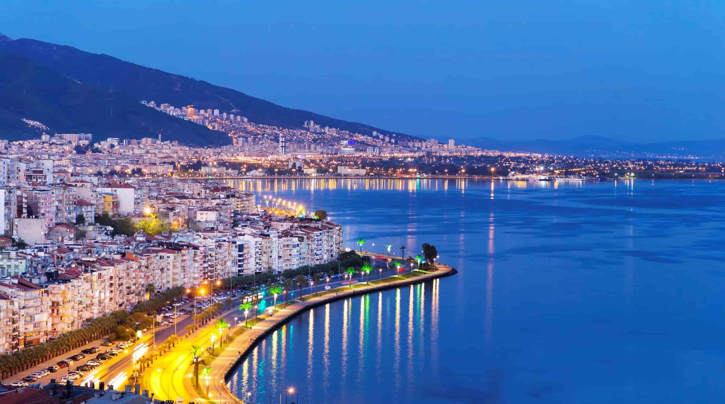 ازمیر از زیباترین شهرهای ترکیه