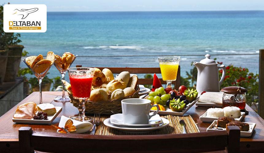 نمایی از بهترین صبحانه هتل ها