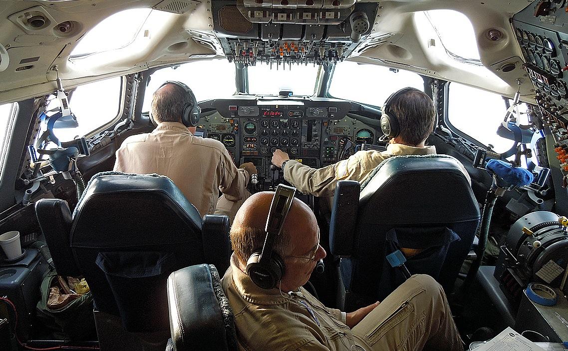 مهندسی پرواز در کابین هواپیما