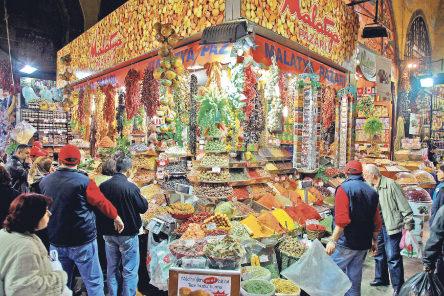 9-tahtakale از بهترین مراکز خرید استانبول