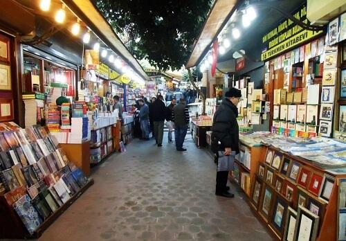 14- بازار کتاب بایزید