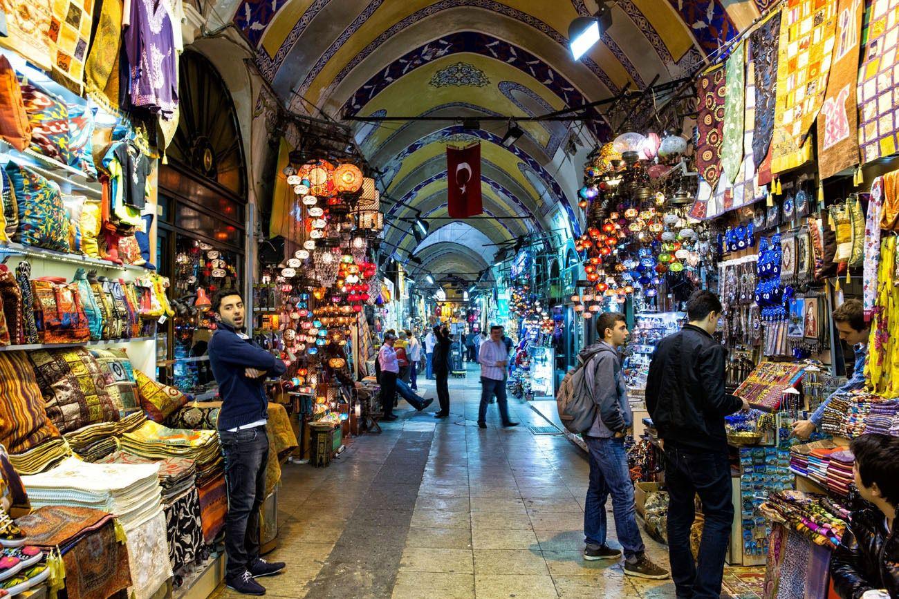 1-بازار بزرگ استانبول Grand Bazaar