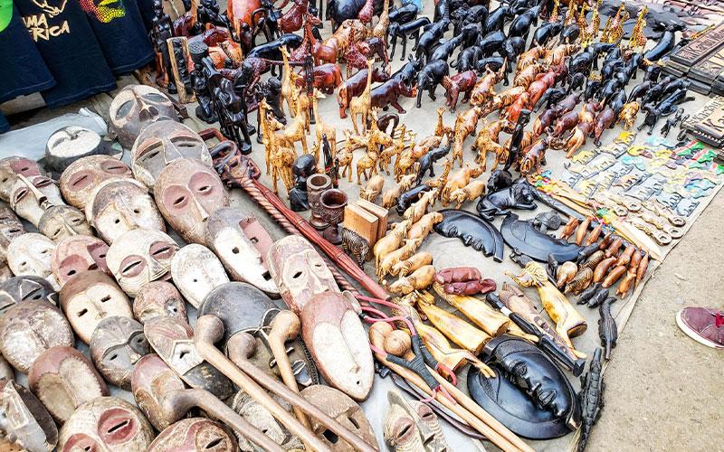 هنرهای دستی سوغات نایروبی در گالری های هنری