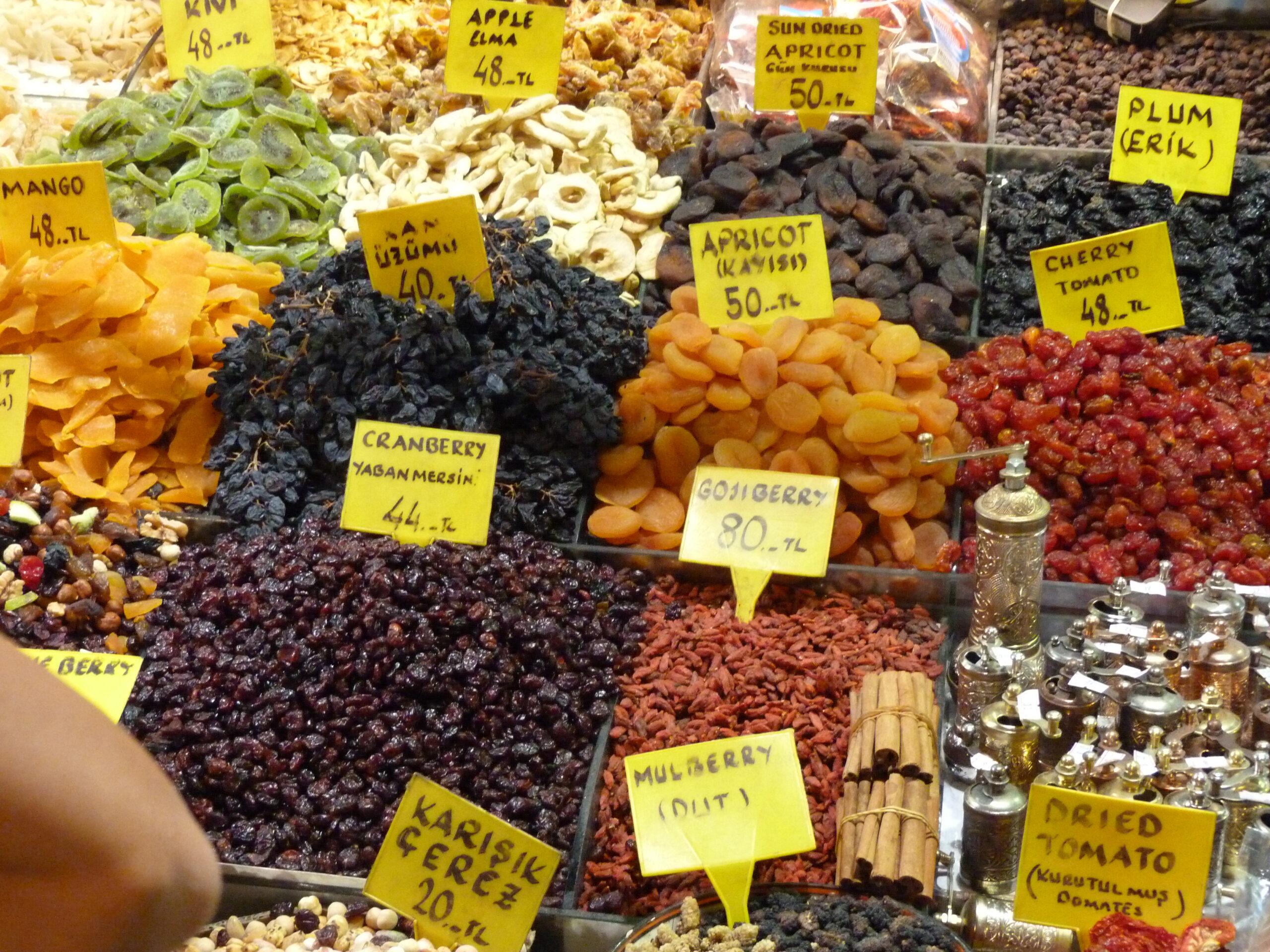 2- بازار ادویه مصر از بهترین مراکز خرید استانبول