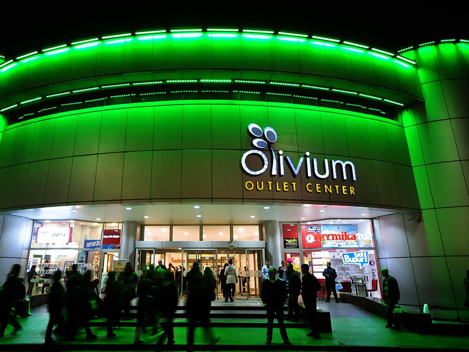 مرکز خرید اولیویوم استانبول
