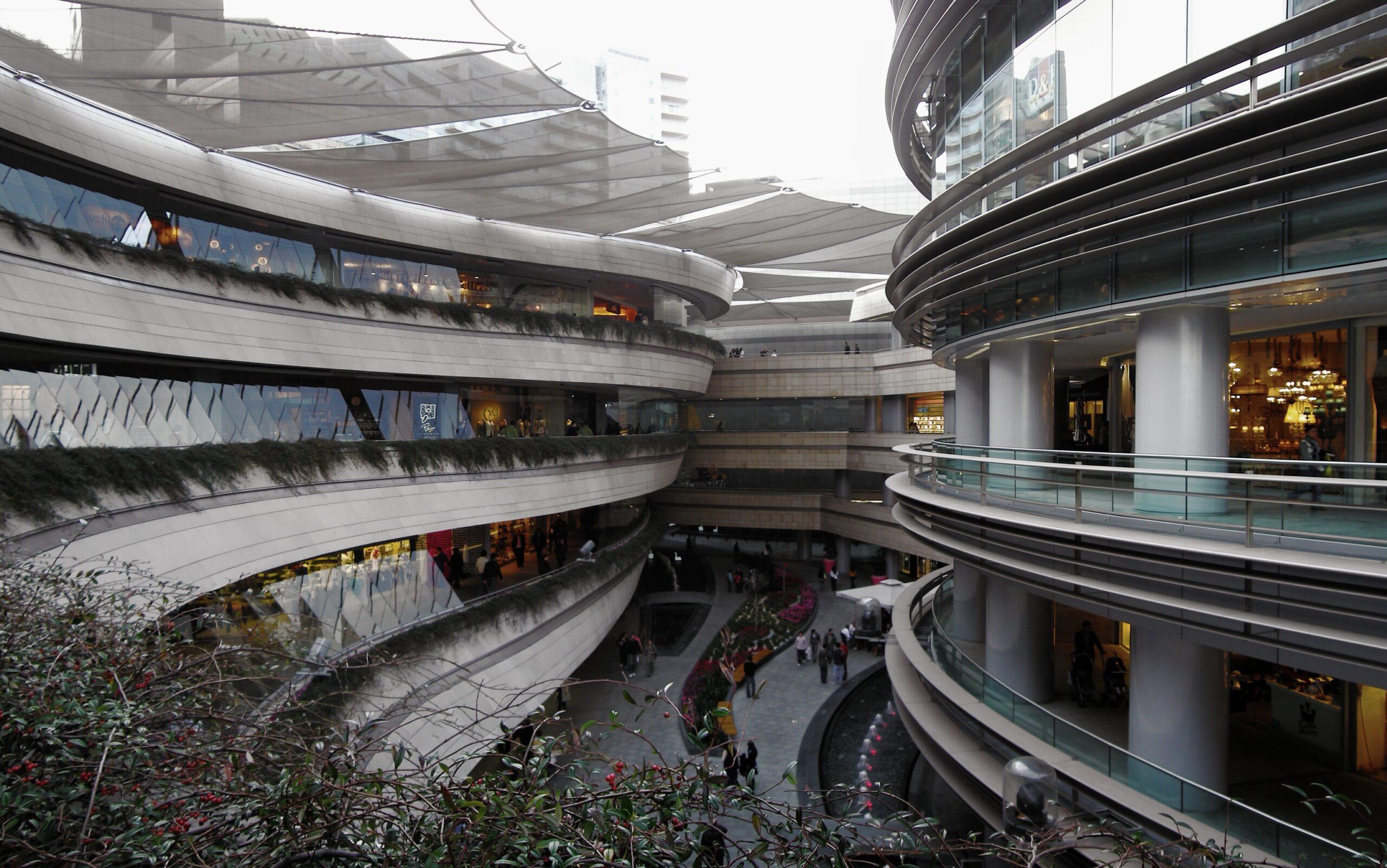 مرکز خرید کانیون یکی از مراکز خرید شیشلی استانبول