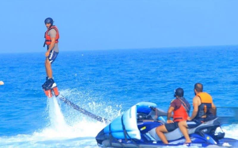 تجربهی تفریح دریایی متفاوت با فلای بورد