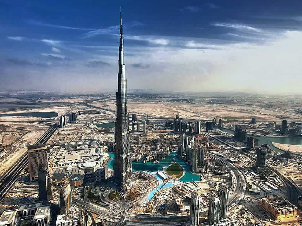 دبی امارات از دیدنی های خاورمیانه