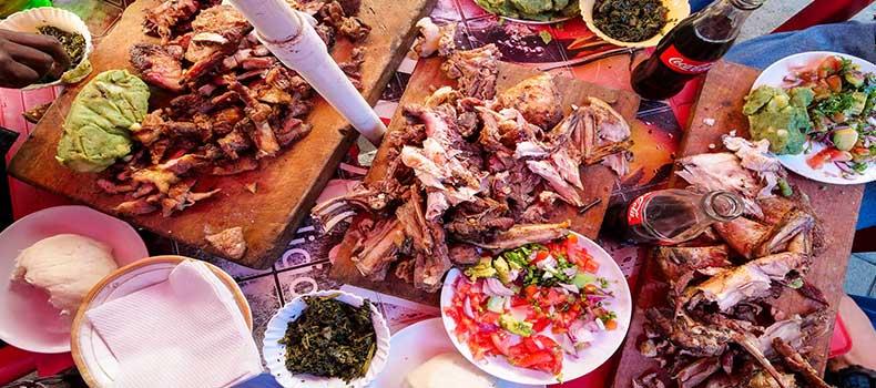 شکم گردی در کنیا