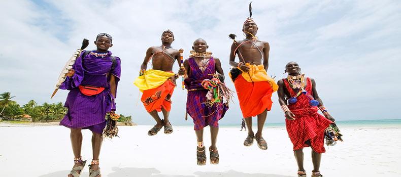 تصویری از مردم کنیایی