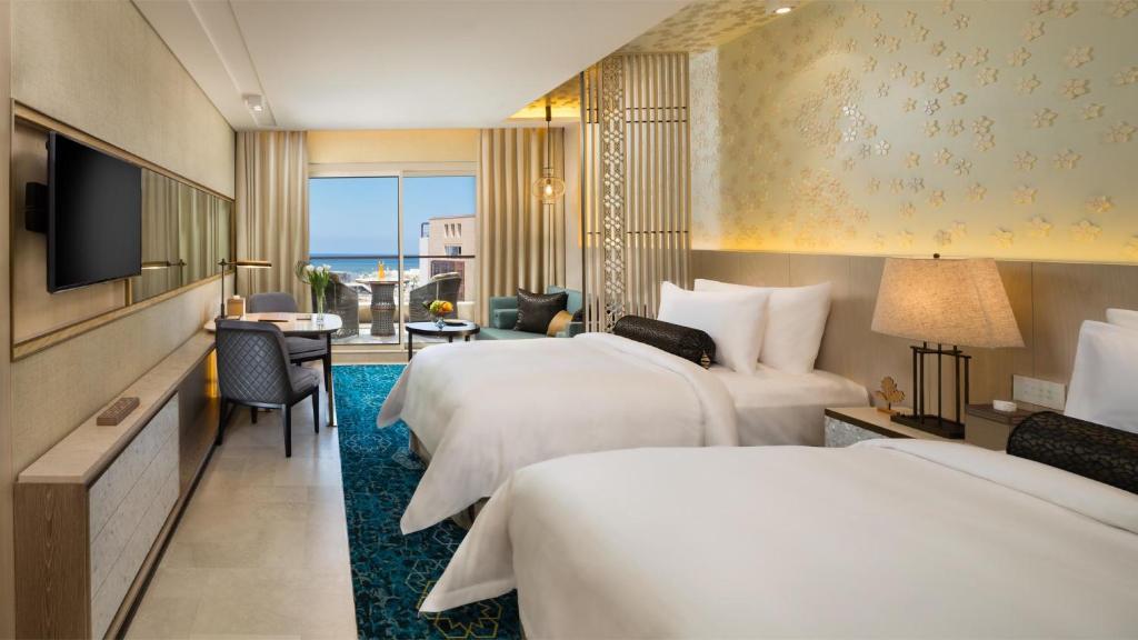 اتاقهای هتل کمپینسکی سامرلند بیروت