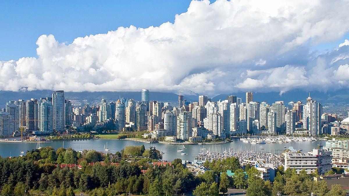 نمایی زیبا از شهر ونکوور