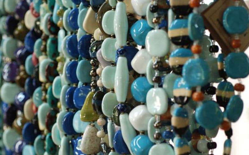 دستبندهای منجوقی بازار نایروبی