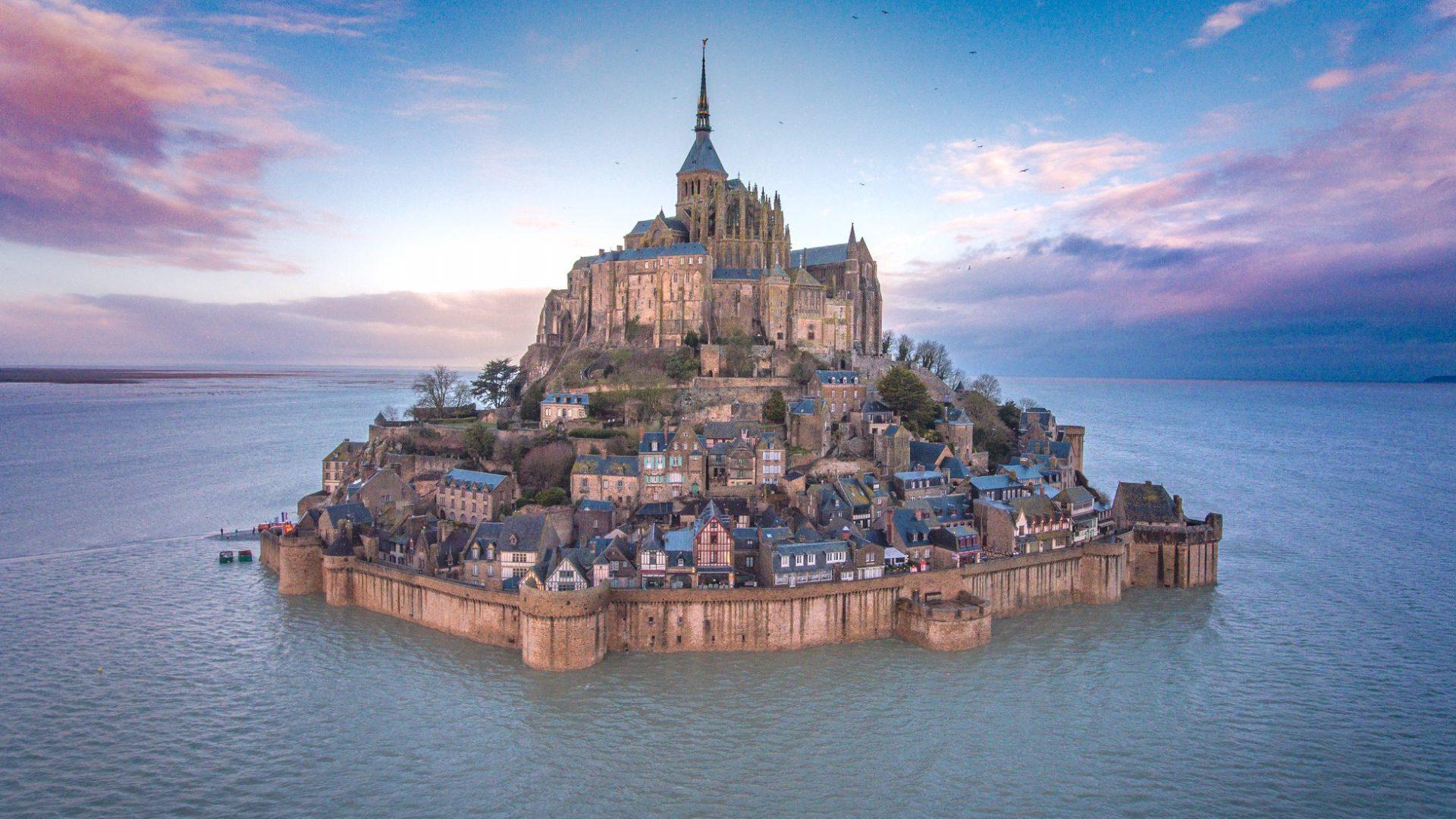جزیره مونت سنت میشل در بهترین تورهای فرانسه