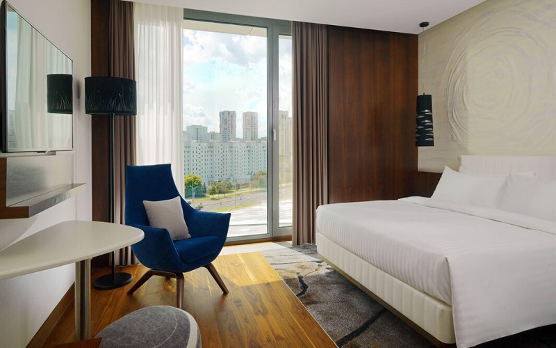 اتاق های استاندارد هتل مینسک